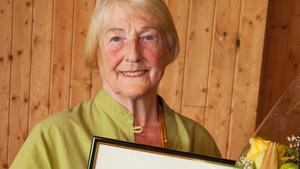 IngeGerd Bergdahl- Parling är 2018års Parlingpristagare.