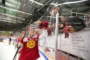 Emil Bejmo gjorde ett av Moras fyra mål i segern mot Almtuna.