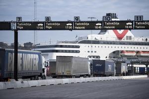 Transport svarar KD om åkerinäringen.Foto: Fredrik Sandberg/TT