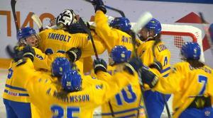 Sverige spelar final i U18-VM under lördagen. Bild: Skärmdump/Youtube