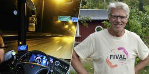 På måndag avgörs det, om Håkan Lesser är Sveriges bästa bussförare.