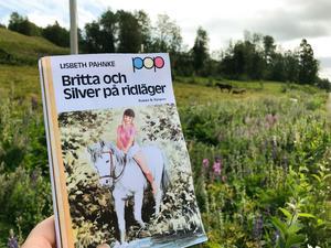 Förebilden för Britta och Silvers ridläger låg i Åkersjön. Foto: Sara Swedenmark