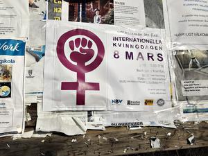 Internationella kvinnodagen firas på Royal i Kramfors mellan 15:00-17:00 kommande fredag.