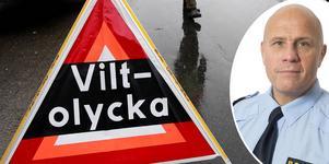 Fyra viltolyckor på en timme är inget ovanligt i Norrtälje kommun, enligt Ola Österling, presstalesperson vid polisens ledningscentral. Foto: Anders Sjöberg/Polisen: Sara Brynedal