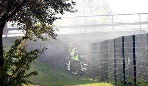 Brand under Dagnybron.