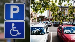Allt för många parkerar i handikapprutorna utan tillstånd, menar skribenten. Bilder: Fredrik Sandberg/TT / Mathias Johansson