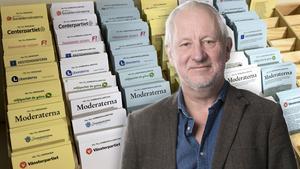 Hans Lindeberg, chefredaktör på Östersunds-Posten. Fotomontage: TT/Mittmedia