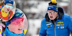 Både Mona Brorsson och Hanna Öberg ser fram emot att få lite mer lösa tyglar i sin träning framöver. Bild: TT.