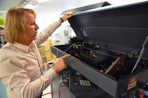Maskiner som såldes för många år sedan kommer ofta tillbaka för att få en rejäl översyn och uppgradering, något som Tim Smith ser som positivt.