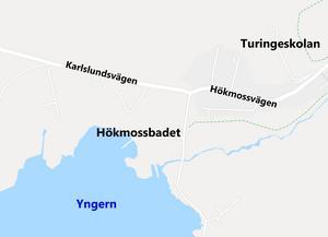 Det är marken söder om Karlslundsvägen i Nykvarn, vid Hökmossbadet, som byggplanerna gäller.