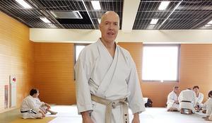 Fred Jarbro 6:th Dan JKF Wadokai från träning i Japan 2018.