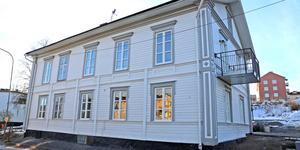 Nu är renoveringen klar av det så kallade Edlundshuset på Djupövägen i Sollefteå.