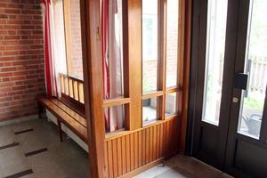 Fönsterparti som en vacker glasveranda.