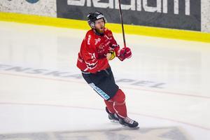 Christopher Fish gjorde 28 poäng på 52 matcher i Västervik förra säsongen, men har haft svårt att leverera på samma nivå för Vita Hästen. Foto: Bildbyrån