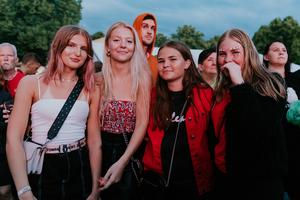 Hanna Regina, Julia Gyborn, Amanda Hellström och Victoria Ekman.
