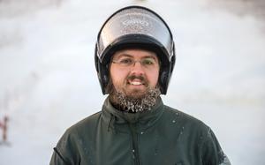 Nicklas Jansson, 35 år, pistvakt, Sundsvall.