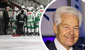 Karl-Erik Eckemark, hedersordförande VSK Bandy, brinner för VSK Bandy.