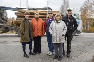 Karolina Pehrsson, Elisabeth Norén, Björn Ersmar, Kristina Norén och Sven-Ulrich Dulle Ohlsson är några av de som oroas över vänstersvängen vid Mo skola.
