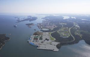 Norviks hamn. Bild: Stockholms Hamnar