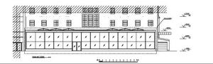 Närbild av den planerade utbyggnaden, från ritningarna.