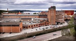 Tunnplåtsfabriken ligger inne på ABB:s område i Ludvika. Foto: Peter Ohlsson/Arkiv