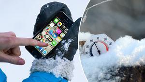Vintern är här, vilket inte telefonerna uppskattar.
