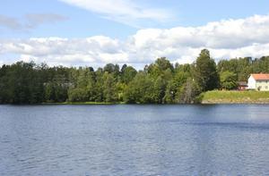 En bild från Skottsund mot det tänkta området.