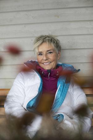 Katrin Holmgren tycker att det är roligt att hjälpa sina kunder med det hon brinner för.
