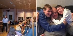 Anders Hansson föreläste i Gullänget under tisdagen om sina erfarenheter som förälder till funktionsnedsatta barn.