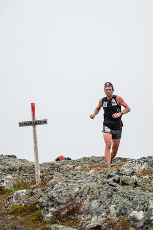 André Jonsson missade banrekordet med 11 (!) sekunder. Efteråt var han besviken över att han inte lyckades slå det. Foto: Johannes Poignant.