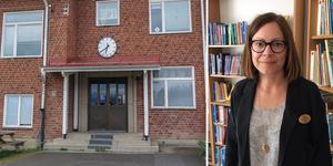 Foto:  Ingmar Reslegård/Privat.                                                                 Rektor Nina Wennberg Brandt