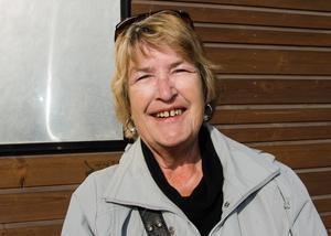 Margita Mattsson, 67, pensionär, Sundsvall: