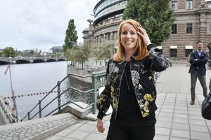 Centerpartiets partiledare Annie Lööf. Foto: Henrik Montgomery/TT