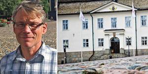 """""""...när Falu kommun hyr en förskolelokal av Lugnetkyrkan så är det ett frivilligt avtal och inte myndighetsutövning. Det faller under Lagen om offentlig upphandling och civilrätten"""", skriver Svante Parsjö Tegnér, Gruppledare Liberalerna Falun, i en replik. Foto: DT arkiv/montage"""