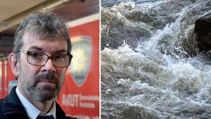 Bild: Kenneth Fahlberg/TT. En ordentlig vårflod är att vänta. Omfattningen beror på kommande väder och hur mycket som avdunstar.