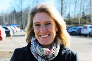 Carina Sándor, kommunalråd i Skinnskattebergs kommun, berättar att förvaltningen fått i uppdrag att kolla upp om det finns någon möjlighet att sälja fastigheten till en privat aktör. Foto: Arkiv