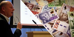 Kommunchef Nicklas Bremefors konstaterar att miljonrullningen ur kommunkassan ser ut att ha bromsat in – kanhända stannar underskottet under 40 miljoner.