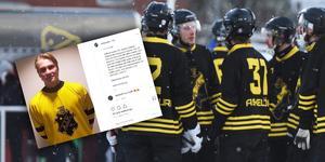 Kalle Lempinen presenterades på AIK:s Instagram. Bild: Jonna Igeland/Skärmdump