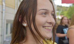 Julia Berglund Östman var en av de första på plats.