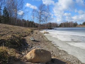 Badplatsen Näset i Kilafors. Foto: Privat
