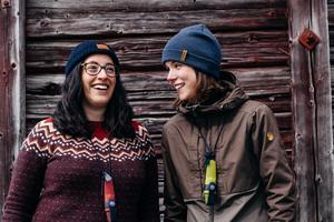 Angeliqa Mejstedt, som driver Sveriges största friluftsblogg