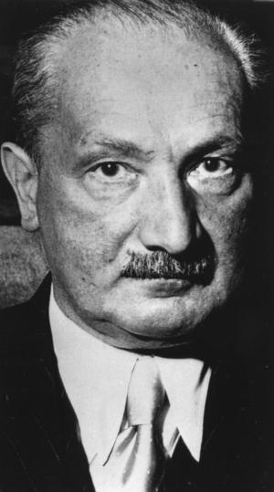 Den tyske filosofen Martin Heidegger 1970. Foto: AP