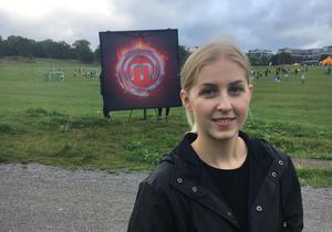 Amanda Uggla Lingvall är nöjd med sin insats i Sveriges Mästerkock. Bild: privat