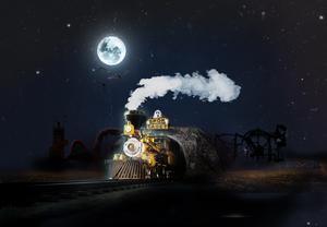 Snart rullar spöktåget in på Skara sommarland, som förvandlas till Scary sommarland - en nöjespark där spöken, mumier och andra monster tagit över.