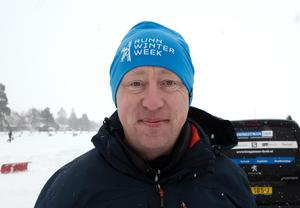 Arrangören av Runnskrinnet, Christian Van Dartel, njöt av prestationerna under söndagen.
