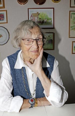 Den 22 oktober 2019 kan Örebro ståta med ännu en 100-åring. Då är det nämligen Marit Björklunds tur att nå det magiska talet.