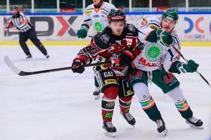 Jesper Ylivainio under en match mot Kristianstad i Division 1. Foto: Petra Älvstrand/BILDBYRÅN