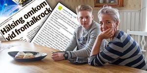 I ett Facebookinlägg hyllar Ann Zetterman LBK för att de ställt upp för hennes autistiske son Walle Wallström, när han förlorade sin bäste vän i en olycka.