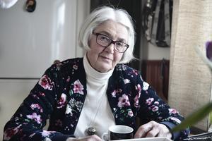 Gerd Edelsvärd arbetade inom terapin på Mobacka i 20 år från sjuttiotalets slut och framåt.