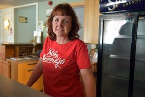 Ann-Katrin Zakrisson har köpt gästgiveriet tillsammans med Henrik Wallin, till vardags kock på Statt i Örnsköldsvik.